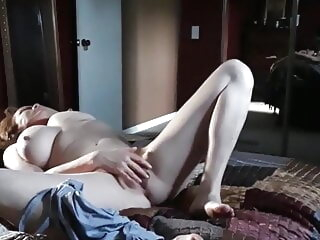Caught masturbating pt 2 amateur fingering hidden camera