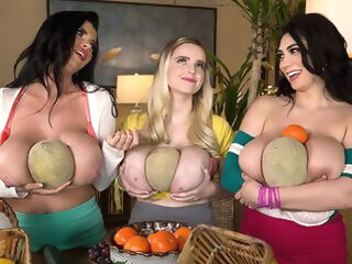 Fun With Fruit - Alexya, Codi Vore, and Sha Rizel - Scoreland bbw big ass big tits