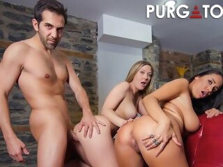 PURGATORYX An Indecent Attorney Vol 1 Part 2 with Addison and Sofi purgatoryx reality tattoo