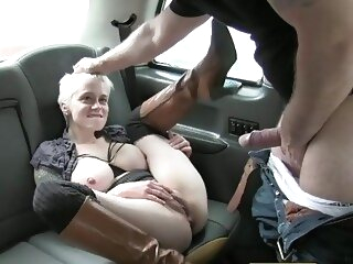 FakeTaxi Hot passionate rough backseat sex taxi pov big tits