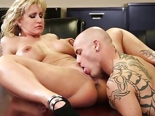 Ryan Conner Busty Milf In Office office pussy licking milf