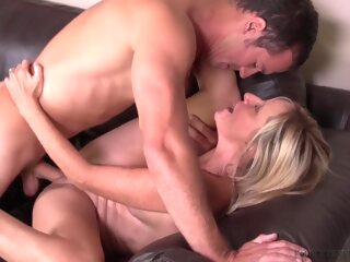 Stepmom Jodi West Breaks In Stepson - JodiWest big tits blonde high heels
