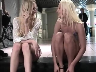 High heels lesbian foot fetish craving amateur blonde foot fetish